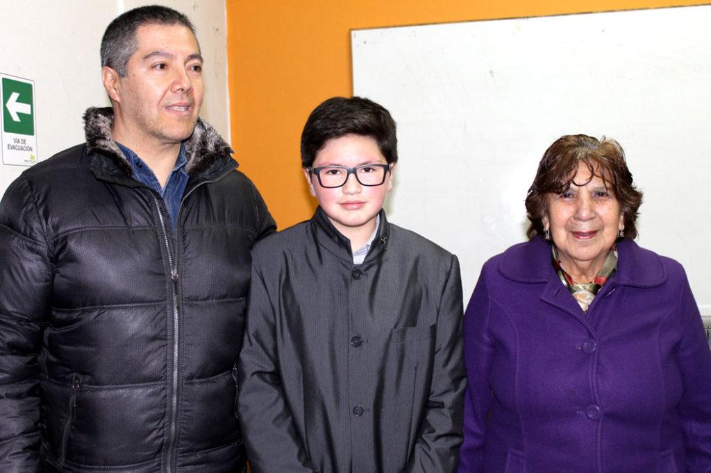 Claudio Orellana, Cristóbal Orellana, Inobela Vargas